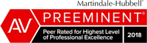 Martindale-Hubbell: Preeminent logo